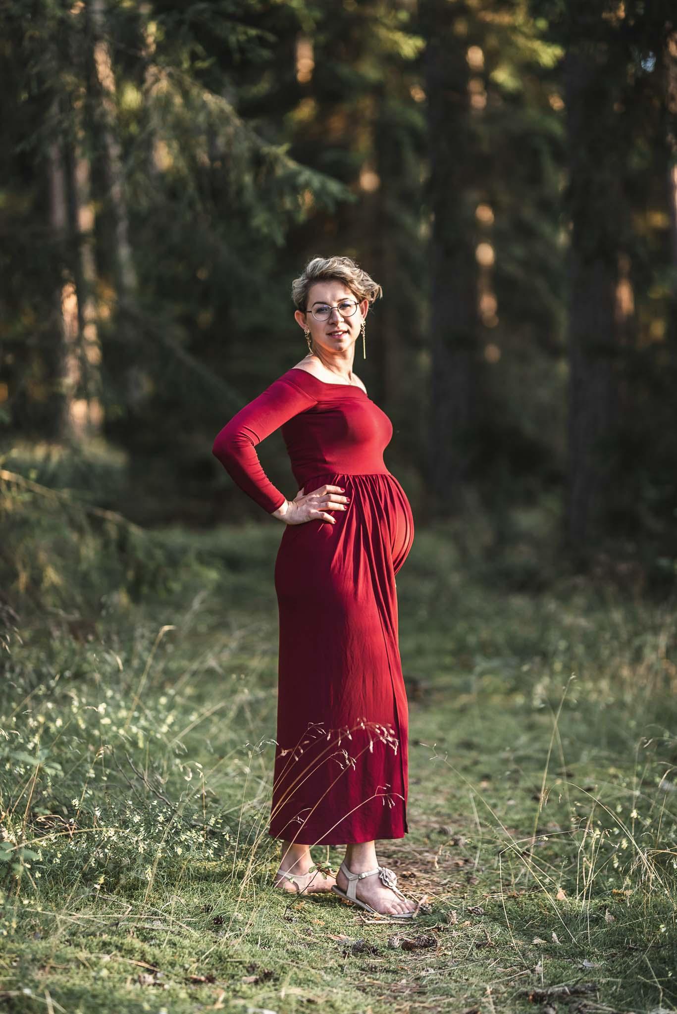 sesja ciążowa mazury