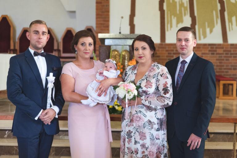 Ceremonia chrztu świętego Olsztyn fotografia chrztu
