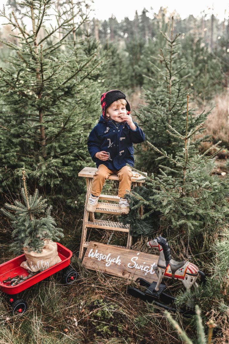 świąteczna sesja plenerowa olsztyn