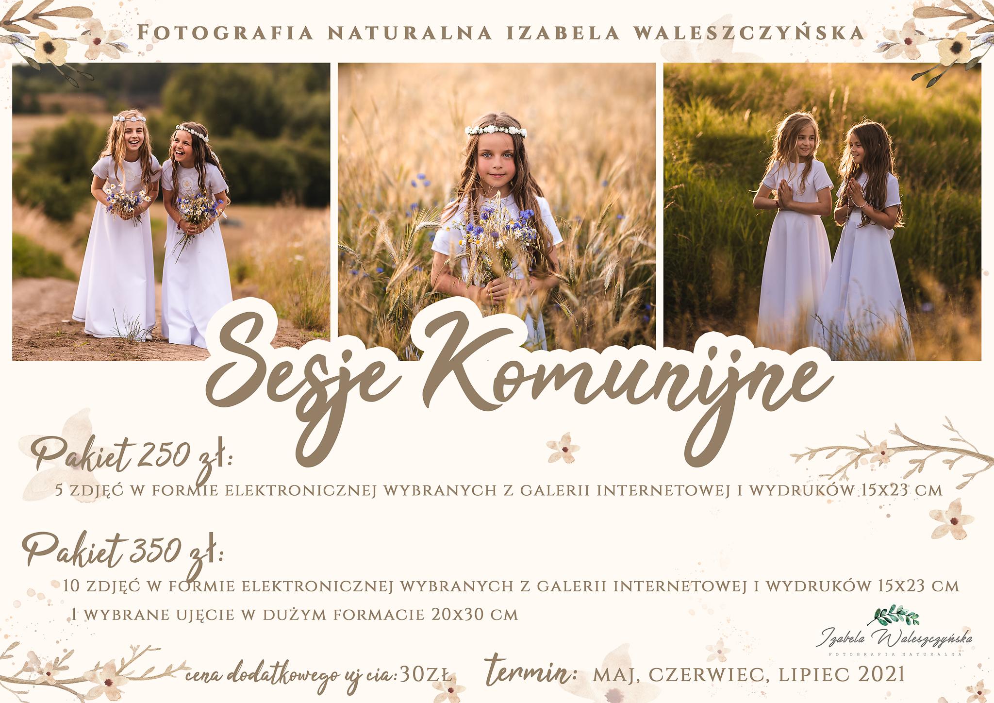 sesja komunijna olsztyn, komunia olsztyn, fotograf na komunię olsztyn