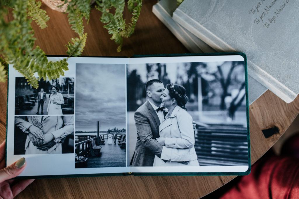 album ślubny, fotograf ślubny olsztyn